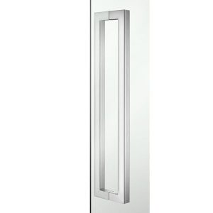 Sanco A3-SET-GL0723 Διπλή Λαβή για Τζάμι Πόρτας Χρωμέ Hotel Inspiration