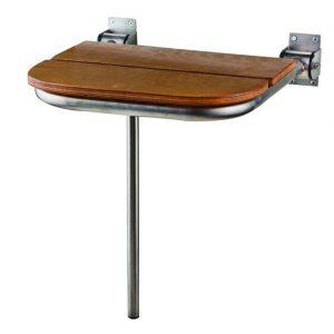 Tema Κάθισμα ΑΜΕΑ 40x32cm με Inox Βάση Ανακλινόμενη 82009