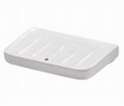 Σαπουνοθήκη Μπάνιου Βιδωτή Πορσελάνης 15x9cm Huida Porsel 17-0304