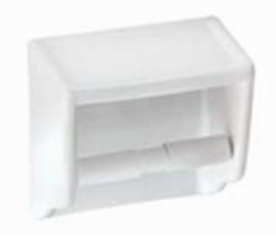 Χαρτοθήκη Μπάνιου Βιδωτή Πορσελάνης 15,5x15,5cm Huida Porsel 17-0308