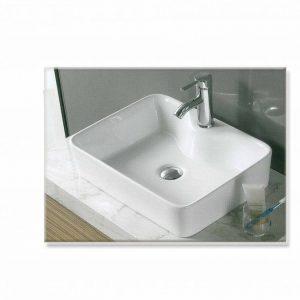 Gloria Dolce 49x38x13cm Νιπτήρας Μπάνιου Επιτραπέζιος/Επικαθήμενος 11-8025