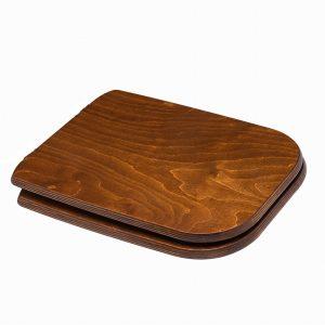 Κάλυμμα-Καπάκι Λεκάνης τουαλέτας 44Χ34.5cm Antique/Καφέ Ρουστίκ Cwatconuant