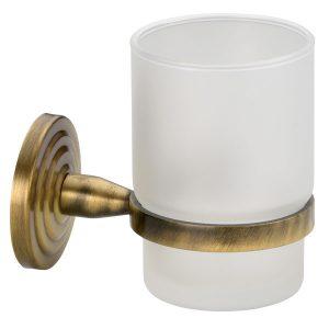Ποτηροθήκη Μπάνιου Oxyde- Bronze Verdi Brass 308.05.66