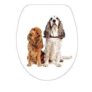 Κάλυμμα-Καπάκι Λεκάνης Import Hellas  cm Σκυλάκια 34