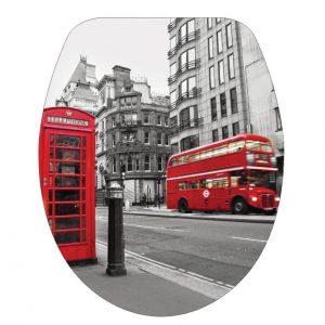 Κάλυμμα-Καπάκι Λεκάνης 45.5Χ37.1cm Λονδίνο 19