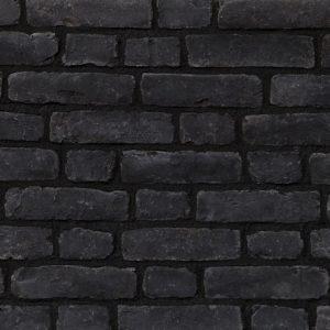 Attica Roustic Black 2309 Διακοσμητικά Tουβλάκια Eπένδυσης Eσωτερικού και Eξωτερικού Xώρου.