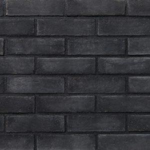 Euro Brick Black 1809 Διακοσμητικά Tουβλάκια Eπένδυσης Eσωτερικού και Eξωτερικού Xώρου.