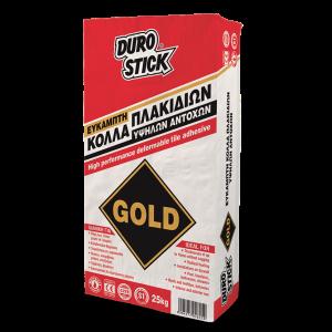 DuroStick Gold Κόλλα Πλακιδίων Ακρυλική και Ελαστική Λευκή C2TE S1 (25Kg)