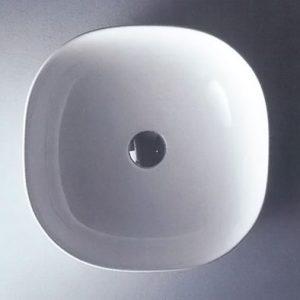 Νιπτήρας Μπάνιου Επικαθήμενος / Επιτραπέζιος Ceramita Encore 40 41x41x15cm