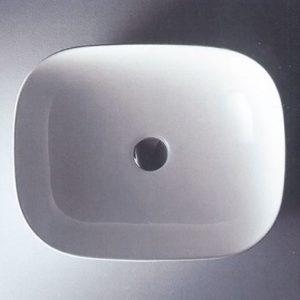 Νιπτήρας Μπάνιου Επικαθήμενος / Επιτραπέζιος Ceramita Encore 50 49,5x39,5x15cm