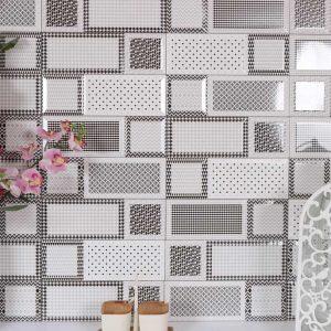Geometrico Set Πλακάκι Τοίχου Μπάνιου & Κουζίνας 10x30