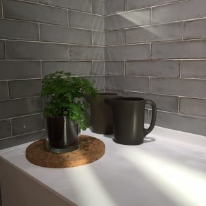 Alchimia Pearl Πλακάκι Τοίχου Μπάνιου & Κουζίνας 7,5x30.