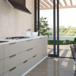 Alchimia Ivory Πλακάκι Τοίχου Μπάνιου & Κουζίνας 7,5x30.