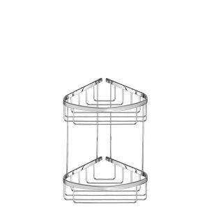 Sanco Extra Comfort Γωνιακή Θήκη Διπλή Χρωμέ A3-009