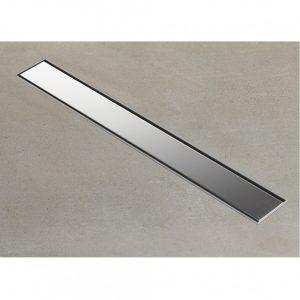 Tema (93742) Σιφώνι ντουζιέρας-Κανάλι Δαπέδου Ρυθμιζόμενο Inox 20 cm DOLU