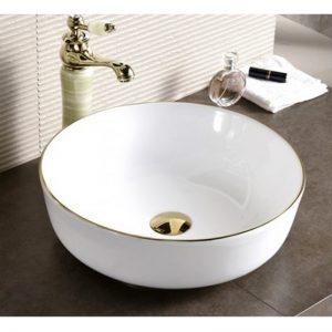 Golden Edge 875 Φ41.5 Νιπτήρας Μπάνιου Επιτραπέζιος/Επικαθήμενος