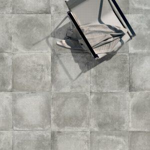 Πλακάκι 80Χ80cm Γρανίτης Δαπέδου Εσωτερικού/Εξωτερικού Χώρου Reden Grey (MS)