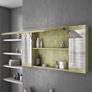 Καθρέπτες Μπάνιου με Ντουλάπι
