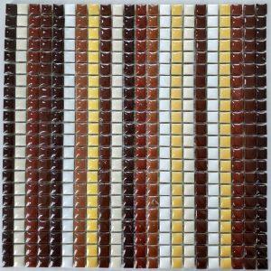 Ψηφίδα Γυάλινη Mosaico PTB-003 30Χ30cm