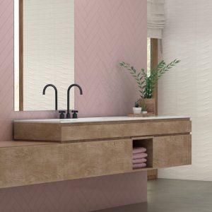 Bestile Bellini Metro Rose Πλακάκι  Μπάνιου & Κουζίνας  7,5x30 cm