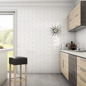 Bestile Bellini Blanco Πλακάκι  Μπάνιου & Κουζίνας  7,5x30 cm