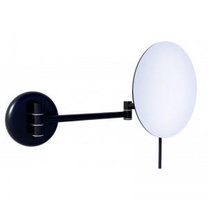 Blake 8178 Καθρέφτης Μεγενθυντικός Μπάνιου Μαύρο Ματ Φ16.8cm