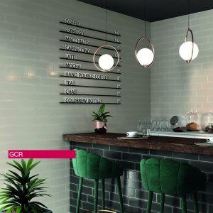 Ricchetti Brick Inspiration Pearl Πλακάκι Επένδυσης Τοίχου Τουβλάκι 10Χ30 cm.