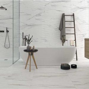 Keratile Maya White Br Πλακάκι Τοίχου Μπάνιου & Κουζίνας 33,3x100 cm