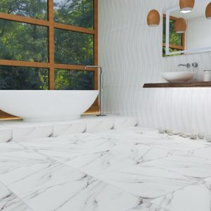 Keratile Dune Ice Brillo Πλακάκι Τοίχου Μπάνιου & Κουζίνας 25x75 cm