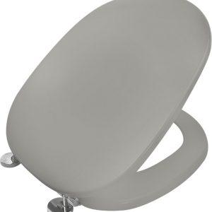 ΕΒΙΟΠ Linda 10-11 Γκρί Κάλυμμα – Καπάκι Λεκάνης Τουαλέτας για Ideal Standard: Linda/Liuto 42x35 εκ.