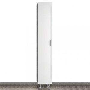 Drop Side Cabinet White Στήλη Μπάνιου Επιδαπέδια 5SLU030WH