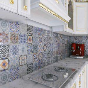 Πλακάκι 25x40cm Andaluz Μπάνιου/Κουζίνας τύπου Vintage