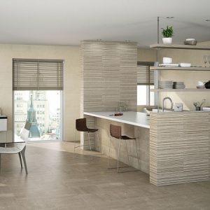 Πλακάκι Μπάνιου/Κουζίνας Karag Metropoli Brown 20Χ50