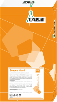 Calcit STUCCO HARD Καλυπτικός ρητινούχος στόκος σπατουλαρίσματος 25kg