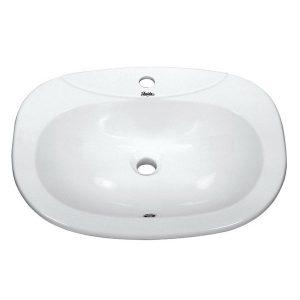 Huida Vanity 58.5x44.5 Νιπτήρας Πάγκου Ένθετος (17-0403)